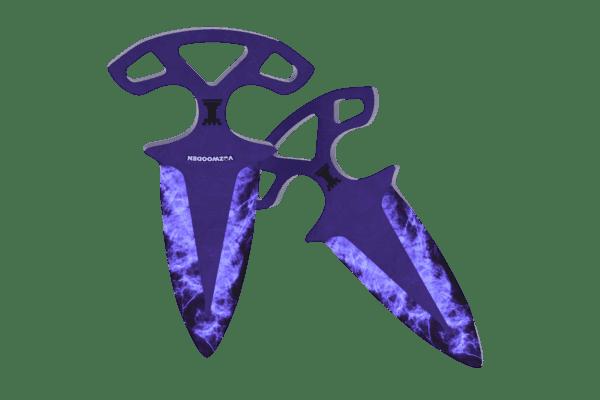 Деревянные Тычковые ножи VozWooden Волны Сапфир (реплика) Фото №2