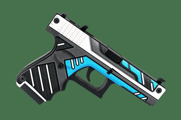 Деревянный пистолет VozWooden Active Glock-18 Вулкан (резинкострел) Фото №3