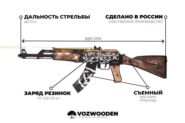 АК-47 Пустынный Повстанец за 1690 руб Фото №4