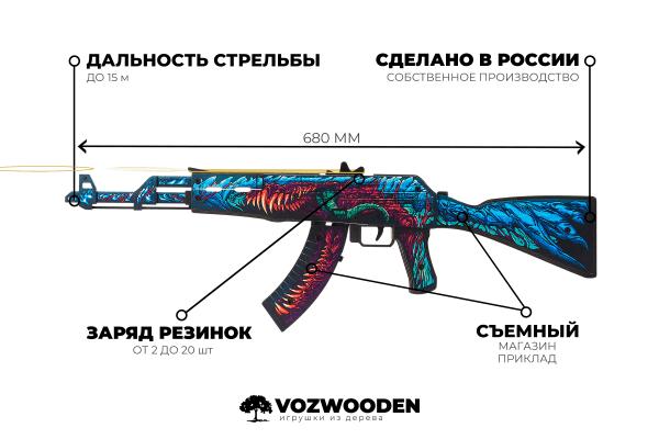АК-47 Скоростной Зверь за 1690 руб Фото №4
