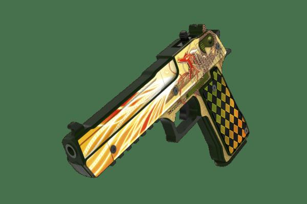 Деревянный пистолет VozWooden Active Desert Eagle История о Драконе (резинкострел) Фото №1