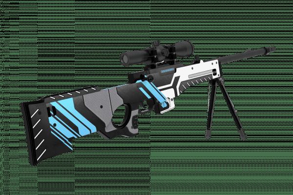 Деревянная снайперская винтовка VozWooden Active AWP Вулкан (реплика) Фото №2