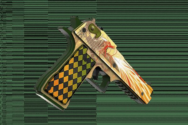 Деревянный пистолет VozWooden Active Desert Eagle История о Драконе (резинкострел) Фото №2