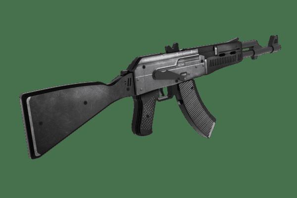 Деревянный автомат VozWooden Active АК-47 Сланец (резинкострел) Фото №2