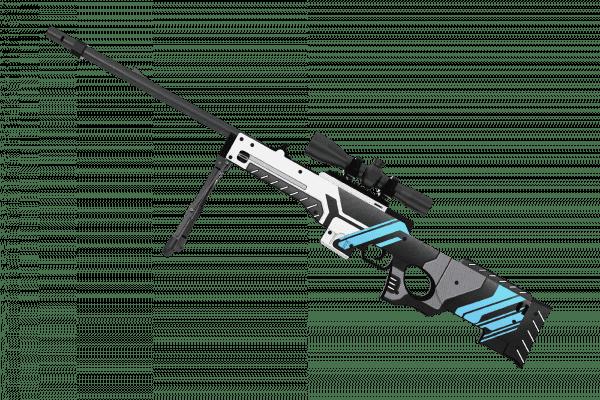 Деревянная снайперская винтовка VozWooden Active AWP Вулкан (реплика) Фото №3