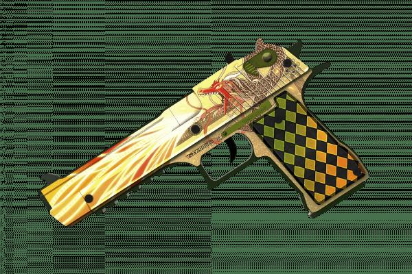 Деревянный пистолет VozWooden Active Desert Eagle История о Драконе (резинкострел) Фото №3
