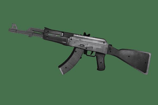 Деревянный автомат VozWooden Active АК-47 Сланец (резинкострел) Фото №3