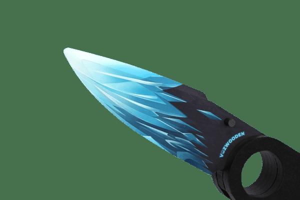 Деревянный нож Складной / Выкидной VozWooden Драгон Гласс (Стандофф 2 реплика) Фото №3