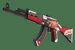 Деревянный автомат VozWooden Active АК-47 / AKR 2 Years Red (Стандофф 2 реплика) Фото №1