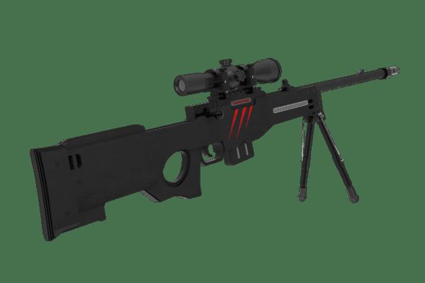 Деревянная снайперская винтовка VozWooden Active AWP / AWM Скретч (Стандофф 2 реплика) Фото №2