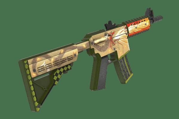 Деревянный автомат VozWooden M4A4 Active История о Драконе (резинкострел) Фото №2