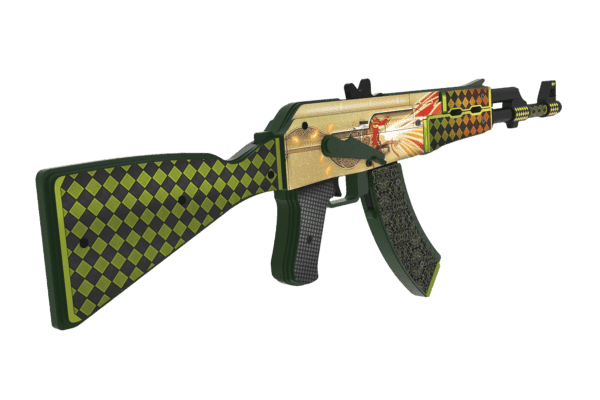 Деревянный автомат VozWooden Active АК-47 История о Драконе (резинкострел) Фото №2