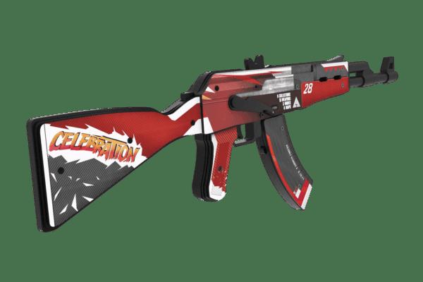 Деревянный автомат VozWooden Active АК-47 / AKR 2 Years Red (Стандофф 2 реплика) Фото №2