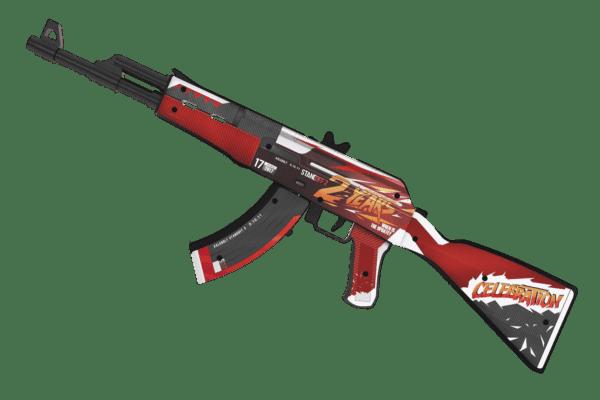 Деревянный автомат VozWooden Active АК-47 / AKR 2 Years Red (Стандофф 2 реплика) Фото №3