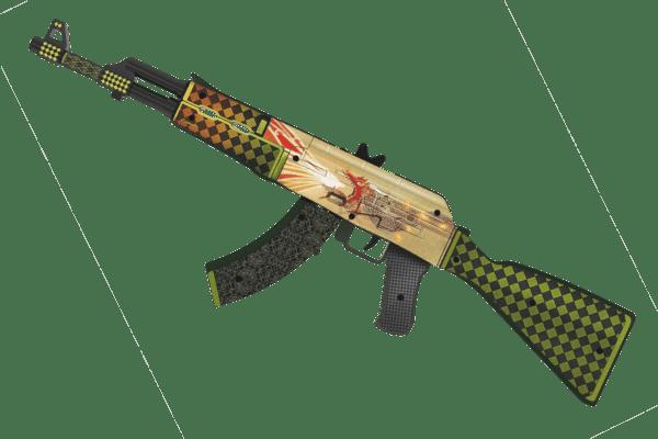 Деревянный автомат VozWooden Active АК-47 История о Драконе (резинкострел) Фото №3